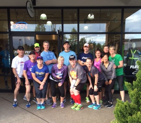 Group Run Photo